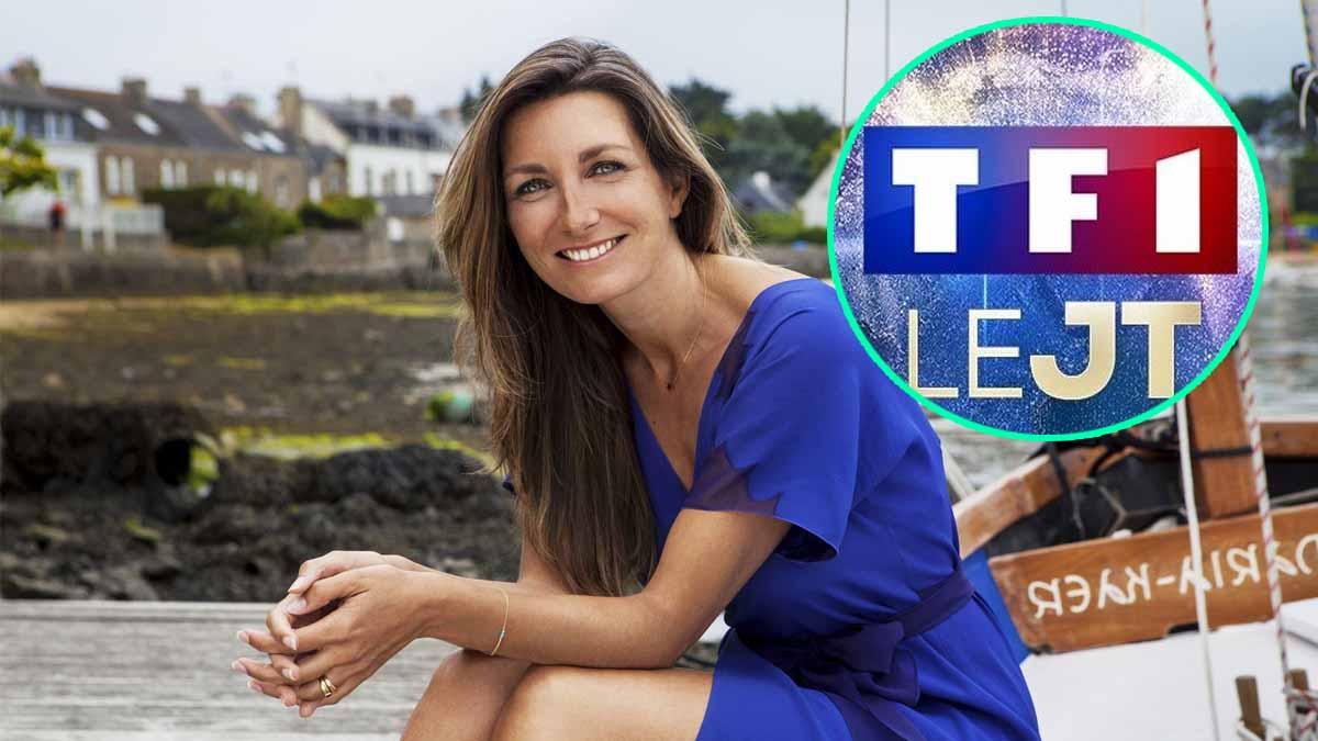 Anne-Claire Coudray sur le départ après six ans au JT de TF1 ?