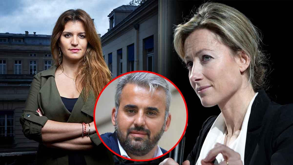 Anne-Sophie Lapix rappelle à l'ordre Marlène Schiappa et se range du côté d'Alexis Corbière !