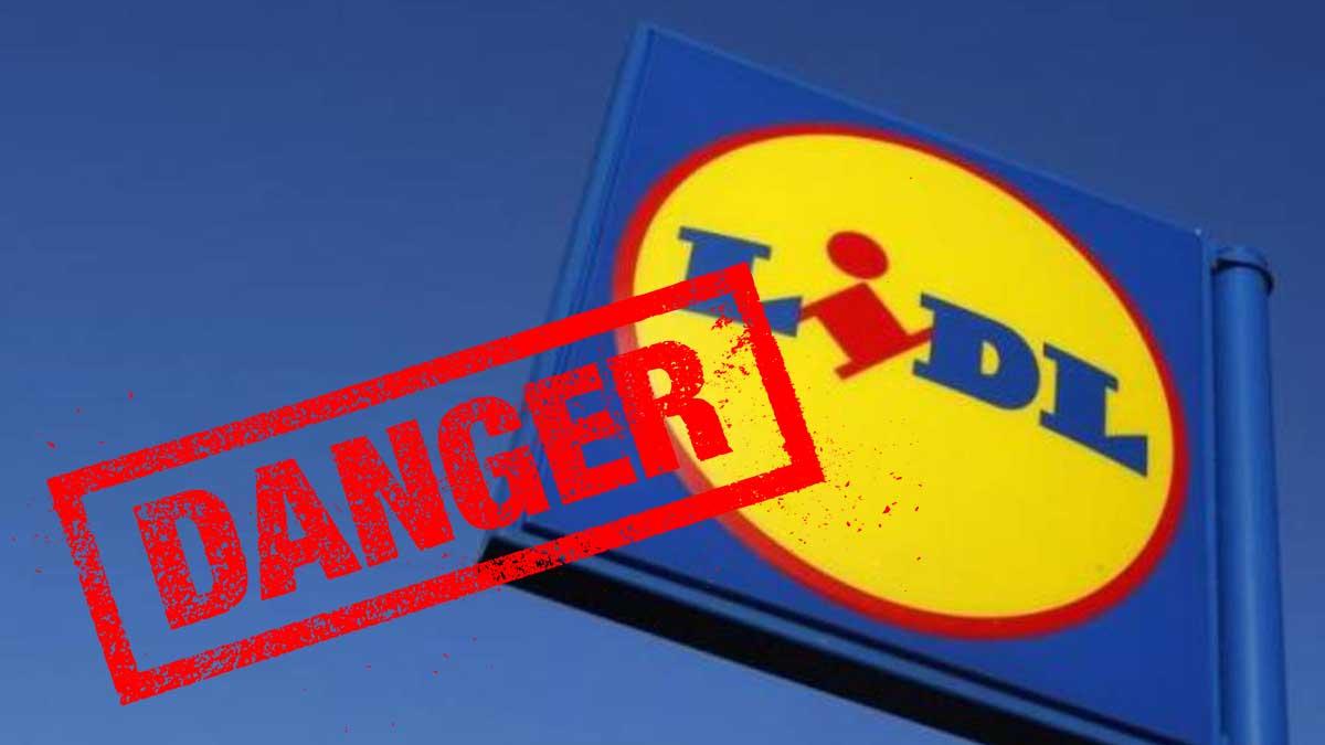 Attention danger ! Lidl rappelle en urgence ce produit potentiellement dangereux pour vos enfants !