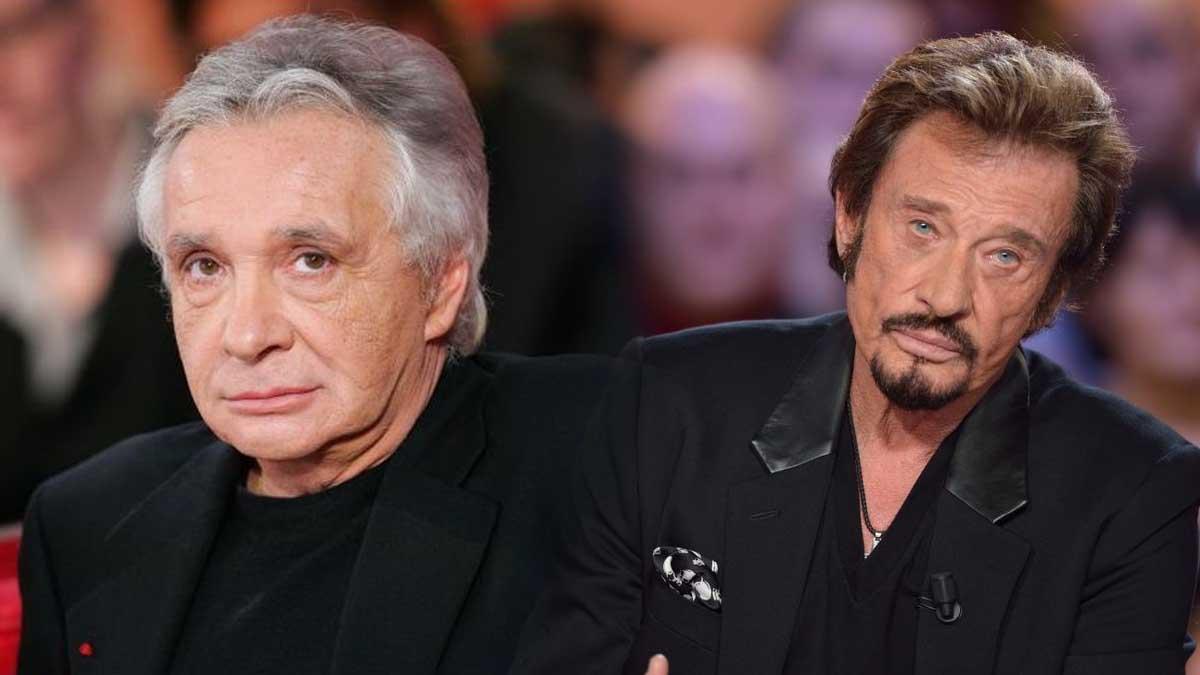 Ce jour où Michel Sardou a été surpris dans le même lit que Johnny !