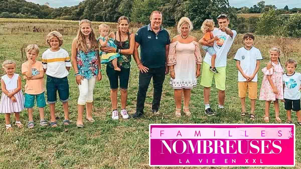 Familles nombreuses, la vie en XXL : cette astuce insolite des Van Der Auwera pour gérer leurs 11 enfants pendant les vacances.