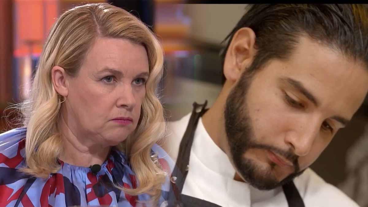 Hélène Darroze extrêmement touchée par les larmes de son protégé Mohamed