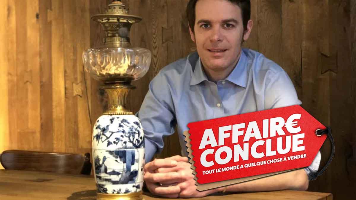 La vente record dans Affaire Conclue critiquée, Damien Tison répond