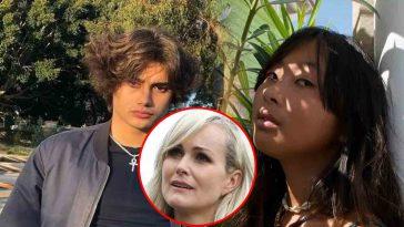 Laeticia Hallyday partage ce moment intime entre Jade et son fiancé à bord d'une limousine