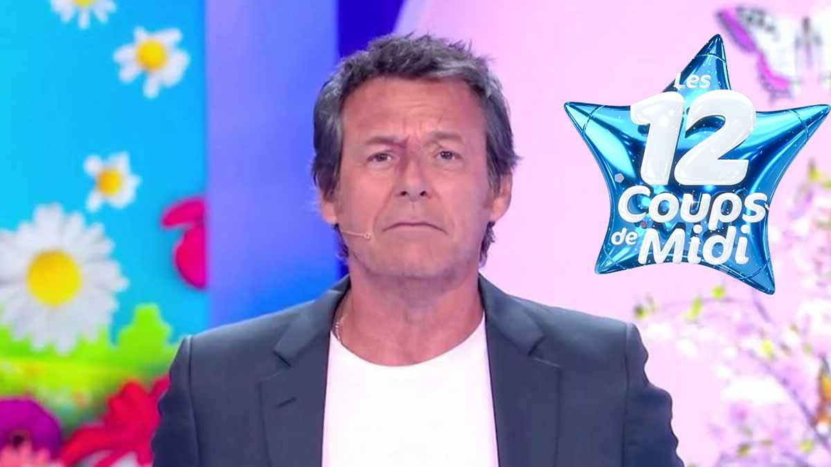 Les 12 Coups de midi : Jean-Luc Reichmann pris d'un fou rire après une question, il réprimande la production