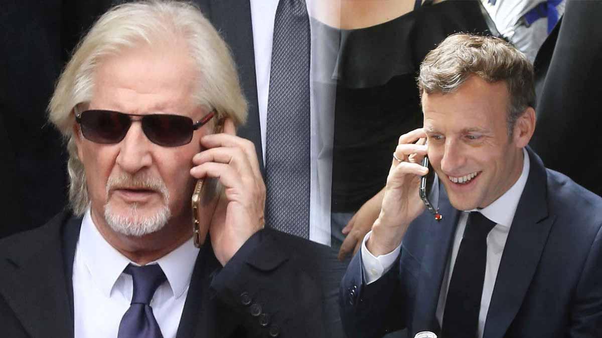 Patrick Sébastien et Emmanuel Macron : la vérité sur ce rendez-vous éclate sur C8