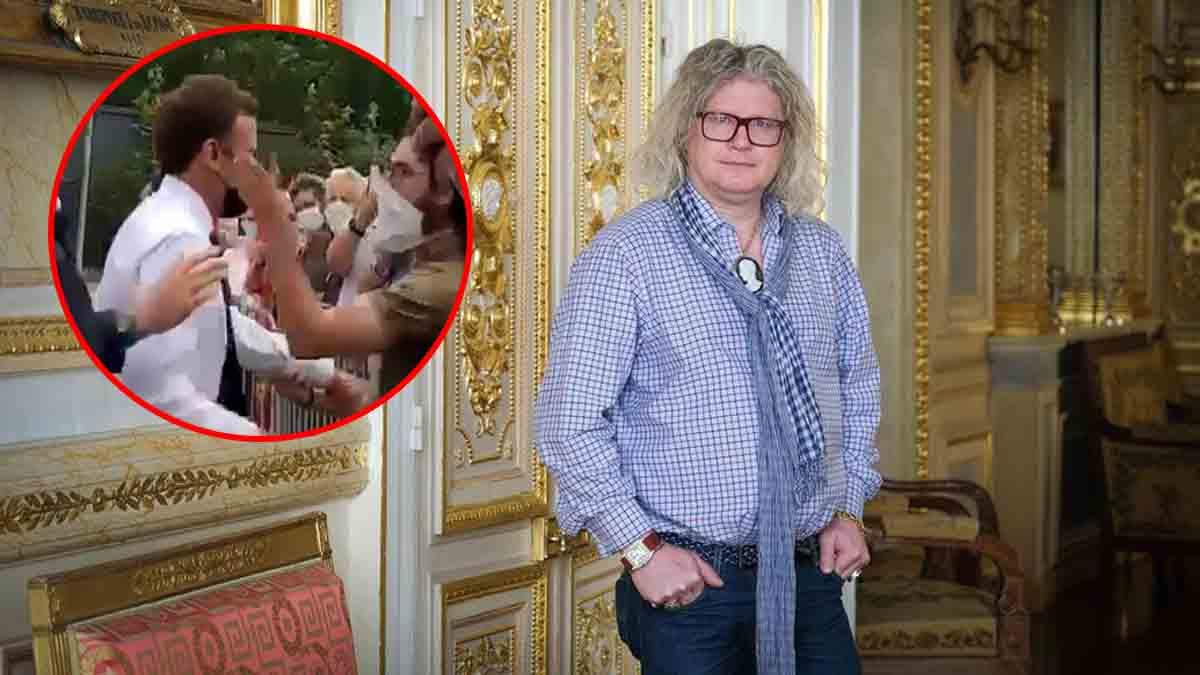 Quand Pierre-Jean Chalençon commente la gifle d'Emmanuel Macron !