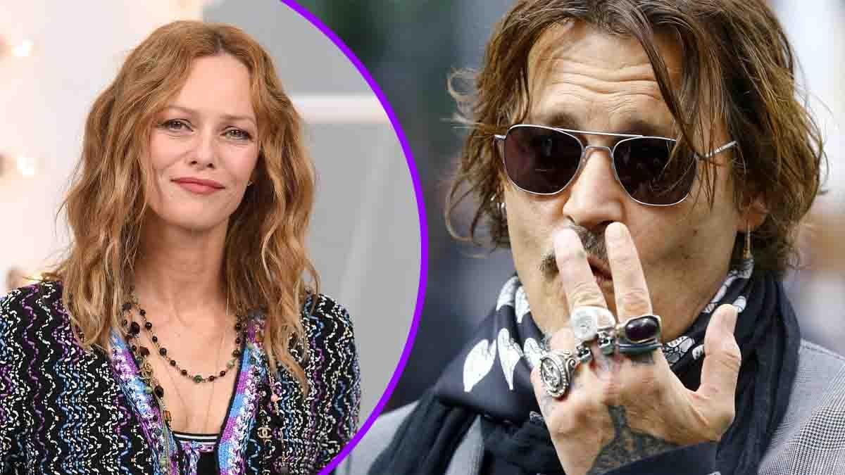 Vanessa Paradis séparée, Johnny Depp la rassure