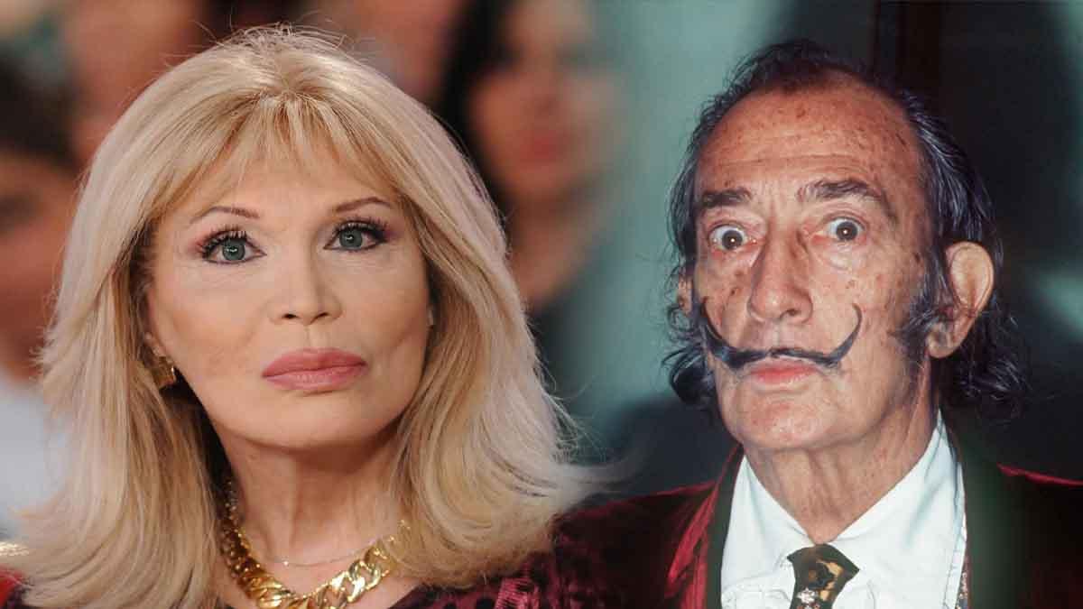 Amanda Lear détruit l'actrice qui l'incarne dans le biopic de Salvador Dali !