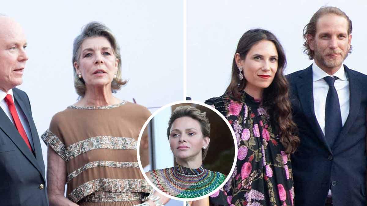 Caroline de Monaco et sa fille Charlotte Casiraghi relèguent Charlène au second plan