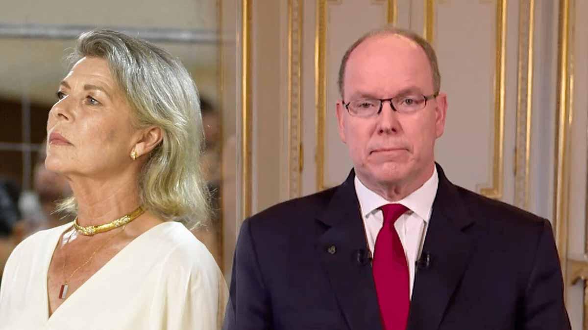 Caroline de Monaco ignorée_ Cette décision judicieuse du prince Albert pour Charlène