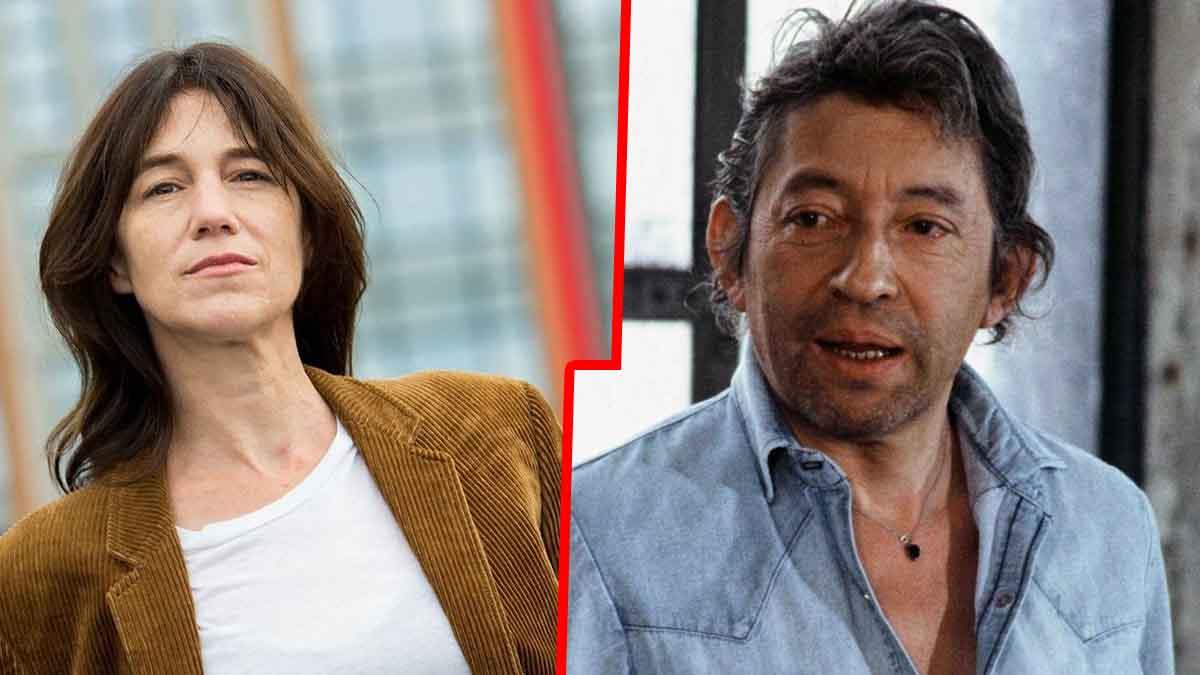 """« Il me faisait aller trop loin"""" : Charlotte Gainsbourg balance sur son père Serge Gainsbourg"""