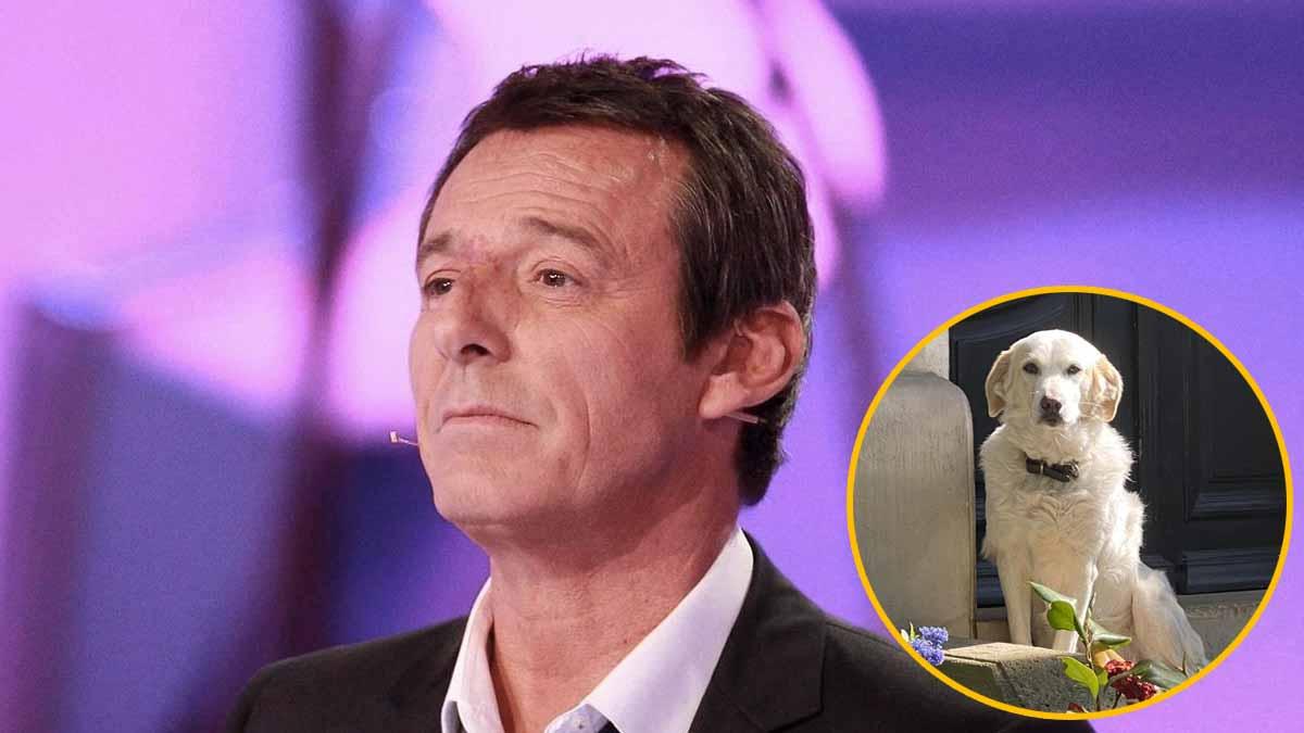 """Jean-Luc Reichmann obligé de prendre cette """"décision douloureuse"""" pour son chien !"""