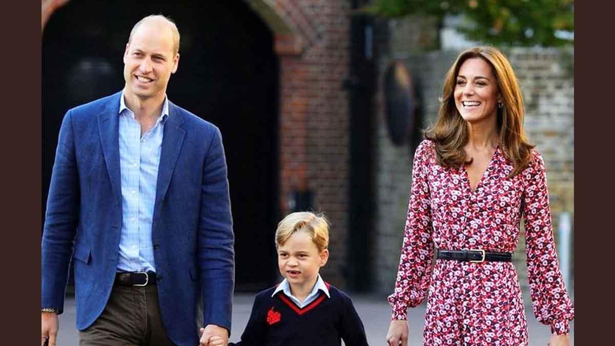Kate Middleton et William séparés du prince George, situation éprouvante pour la famille