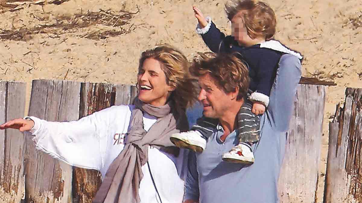 Laurent Delahousse en a mis plein la vue en postant cette rare photo de sa fille et de sa belle Alice Taglioni !