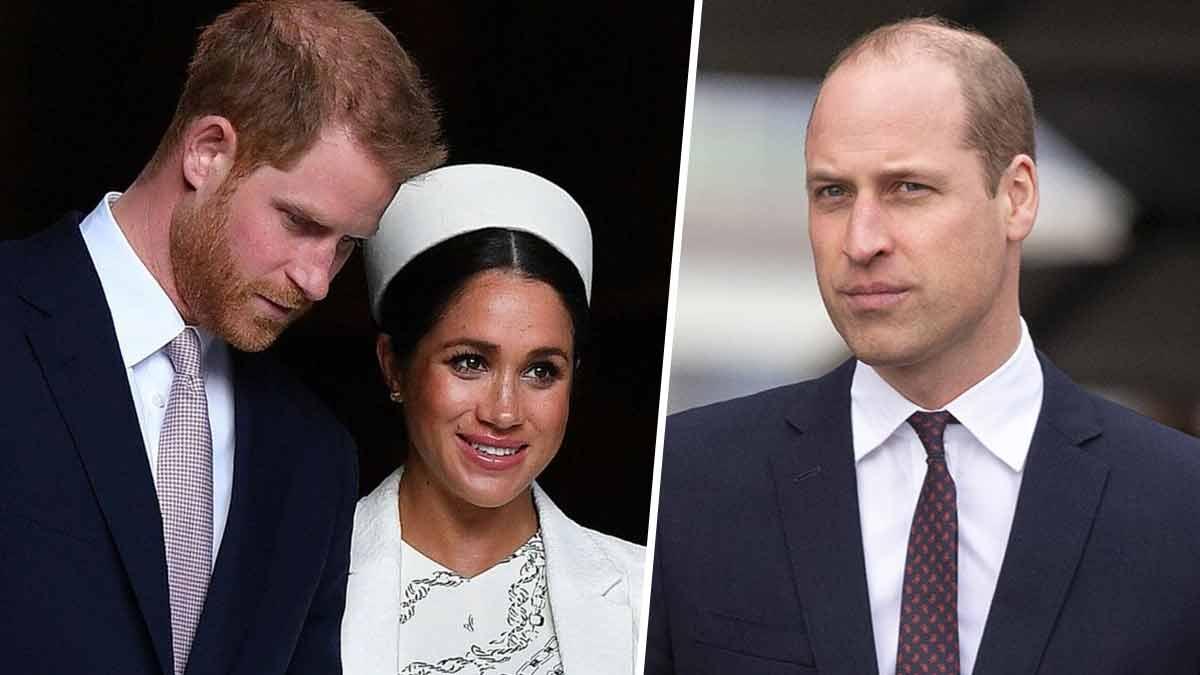 Meghan Markle et Harry chassés de Londres, la vérité sur leur conflit avec le princeWilliam éclate enfin