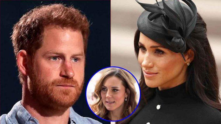 Meghan Markle trompée par Harry, sa trahison dévoilée, Kate Middleton impliquée