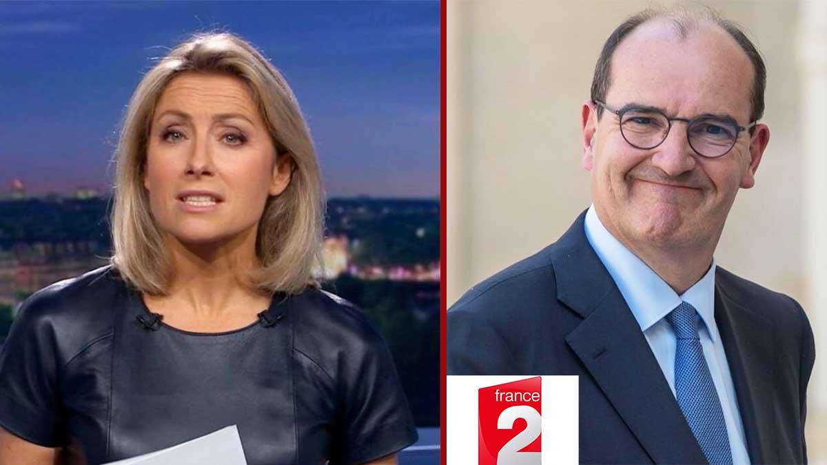 Refroidie par Jean Castex, Anne-Sophie Lapix obligée de prendre une décision radicale sur France 2 !