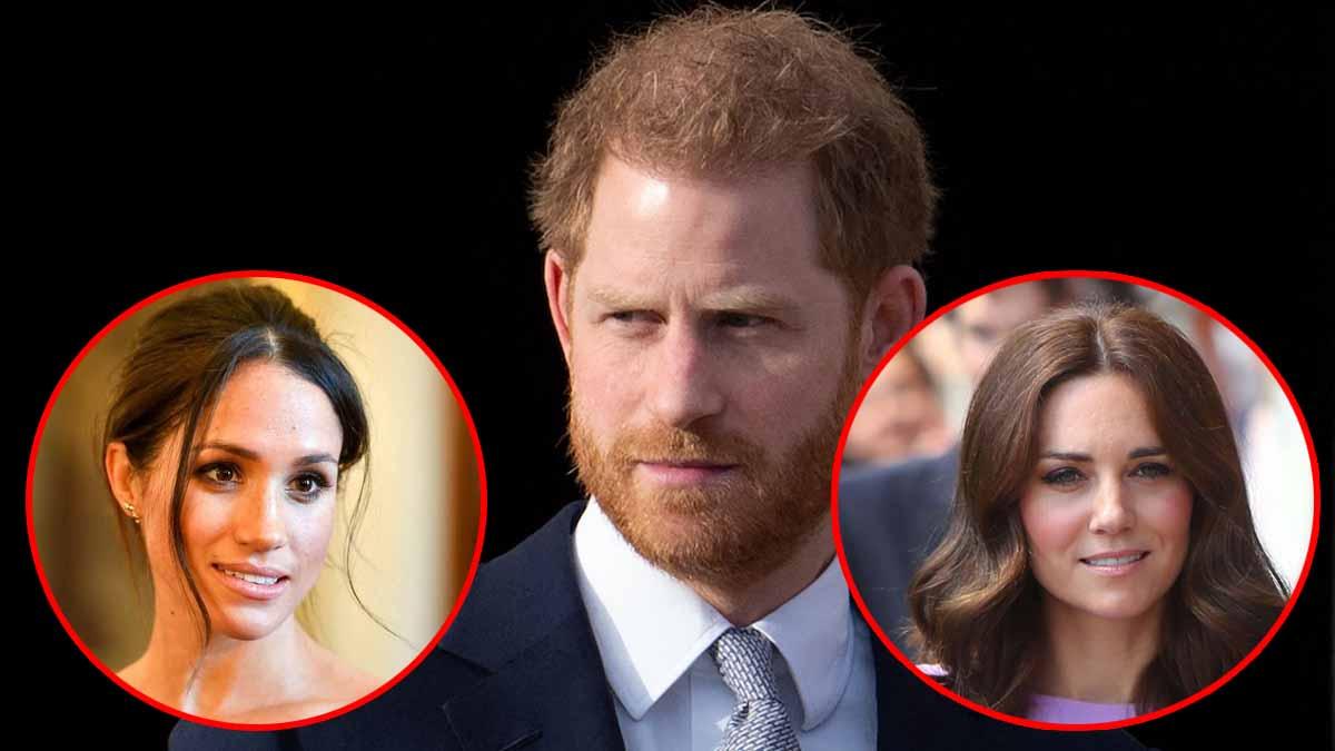 Sous la pression de Meghan Markle, Harry écarte sa belle-sœur Kate !