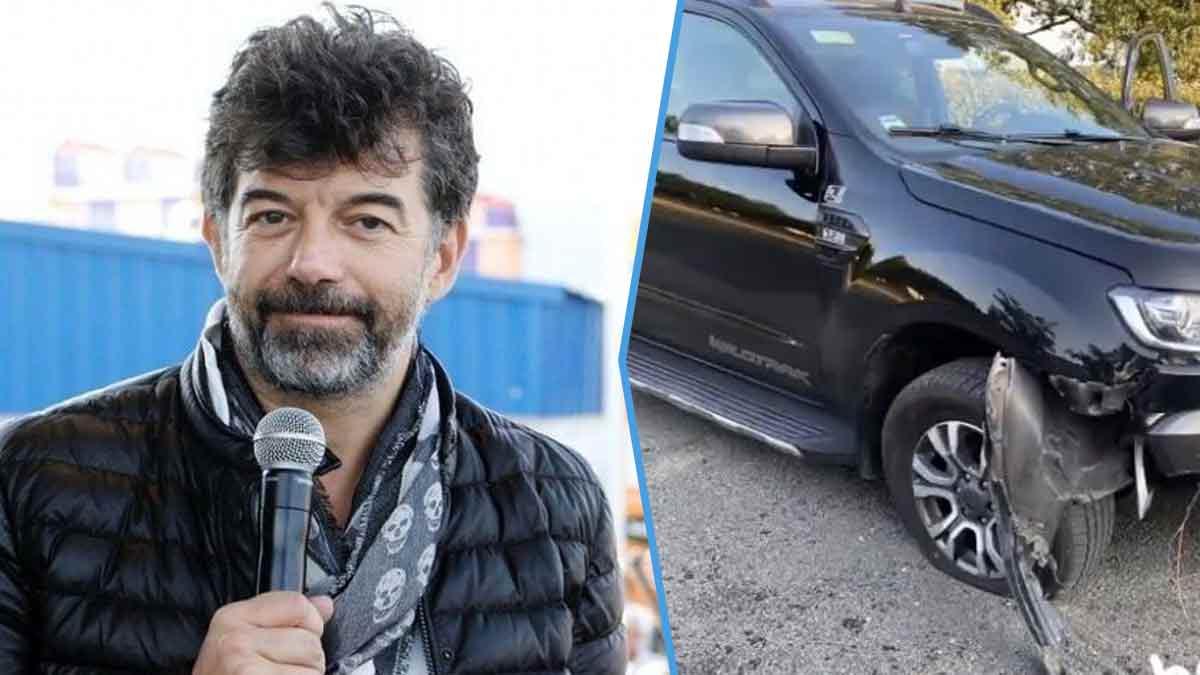 Stéphane Plaza a-t-il de la poisse ? Il vient de fracasser sa voiture, le 2ème en 1 jour !