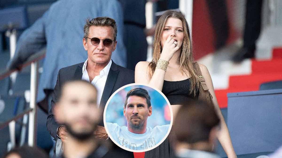 Benjamin Castaldi présent aux côtés de sa belle-fille pour la première de Lionel Messi au Parc des princes !