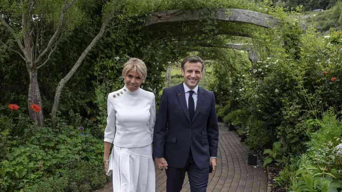 Brigitte et Emmanuel Macron : cette piscine hors de prix au Fort de Brégançon continue à faire polémique !