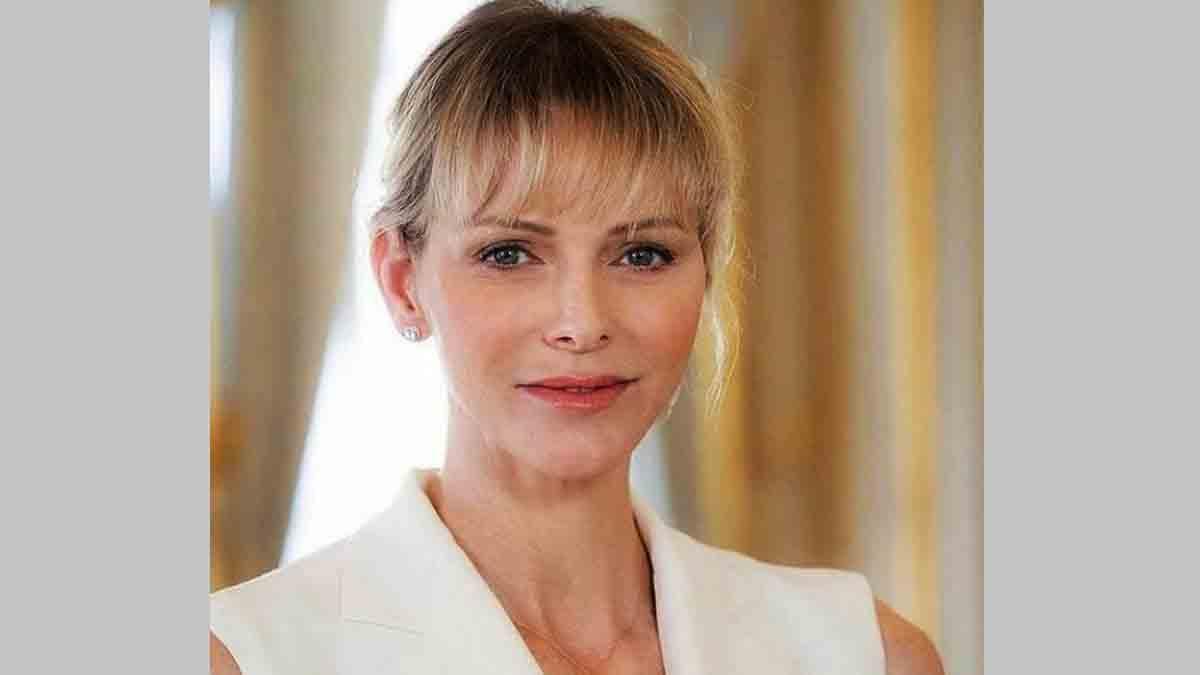Charlène de Monaco se dévoile dans une nouvelle photo qui fait peur