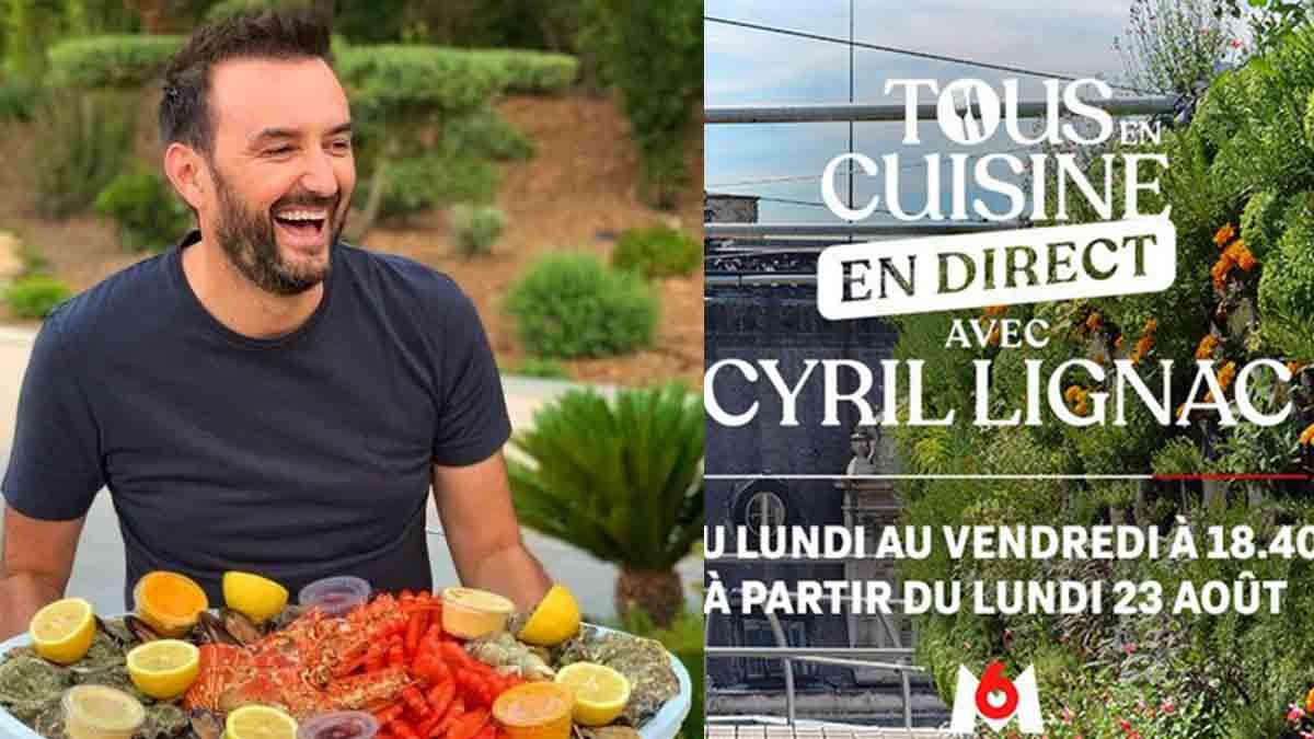 Cyril Lignac : Ce gros changement qui vient avec le retour de Tous en cuisine