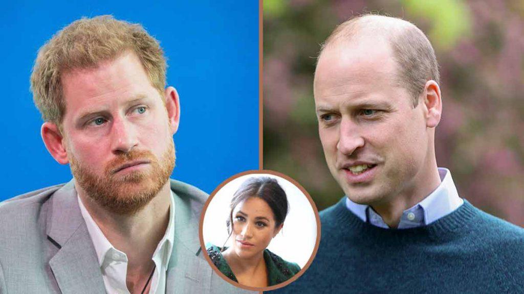 """Harry """"jeté littéralement hors du palais"""" grosse dispute avec William à cause de Meghan !"""