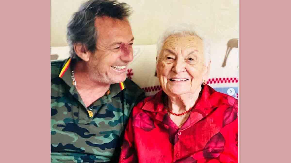 Jean-Luc Reichmann dévoile les images du week-end inoubliable de festivités pour les 100 ans de sa mamie Georgette