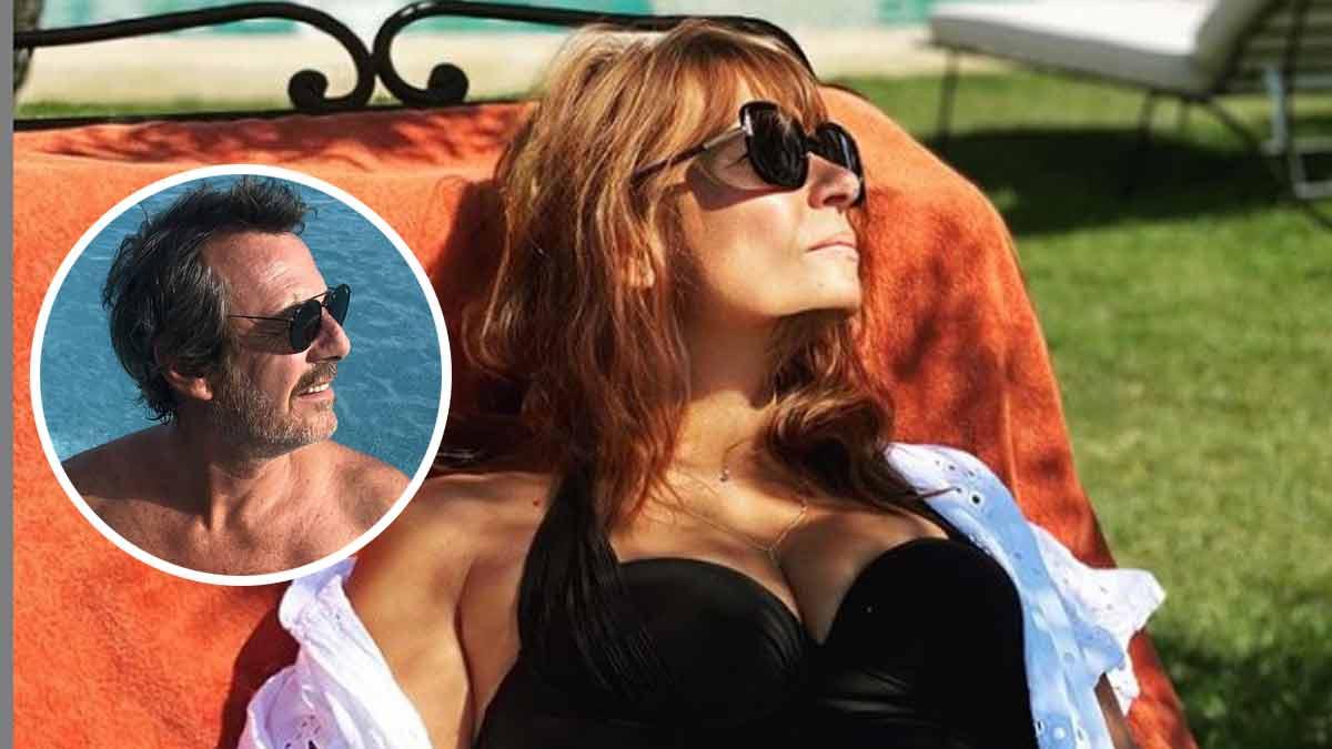 Jean-Luc Reichmann : sa compagne Nathalie Lecoultre en maillot de bain, elle affole la Toile avec son joli décolleté