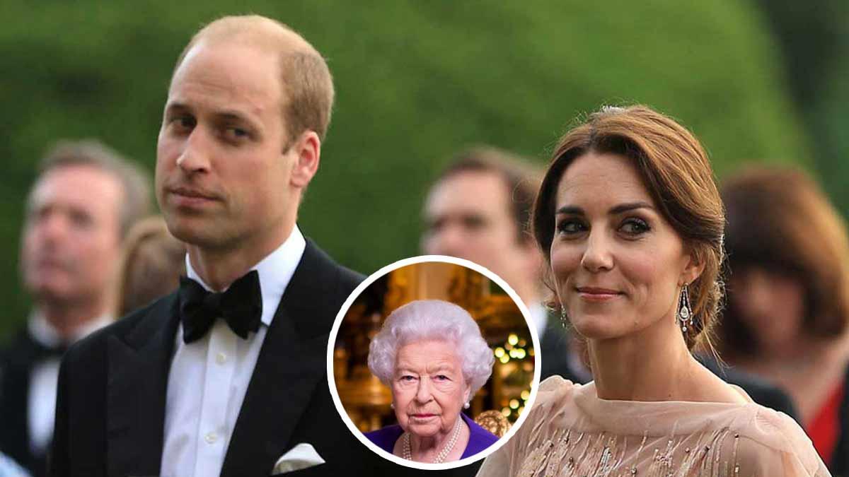 Kate Middleton : sa grossesse ignorée, William préoccupé par la reine