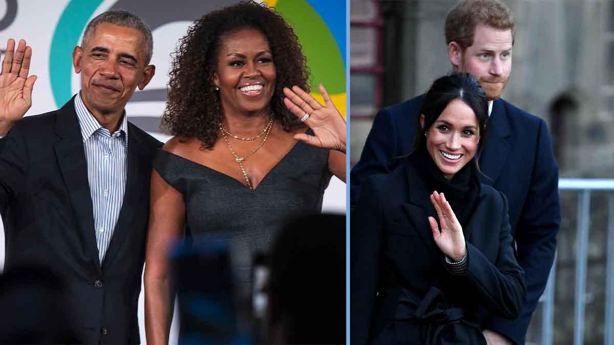Meghan Markle et Prince Harry, en guerre avec Michelle et Barack Obama !