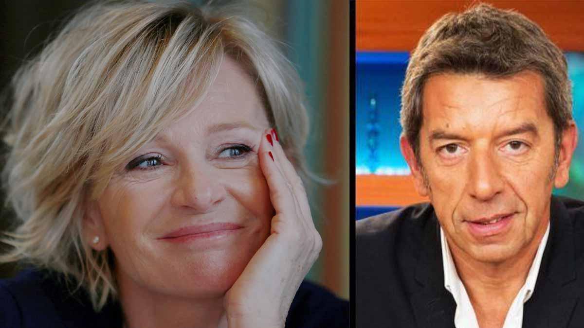 """Michel Cymes ignore Sophie Davant, il se """"place"""" au-dessus !"""