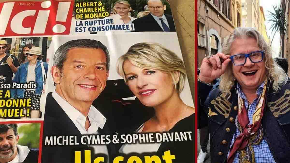 Sophie Davant et Michel Cymes, le grand amour. Pierre-Jean Chalençon réagit !