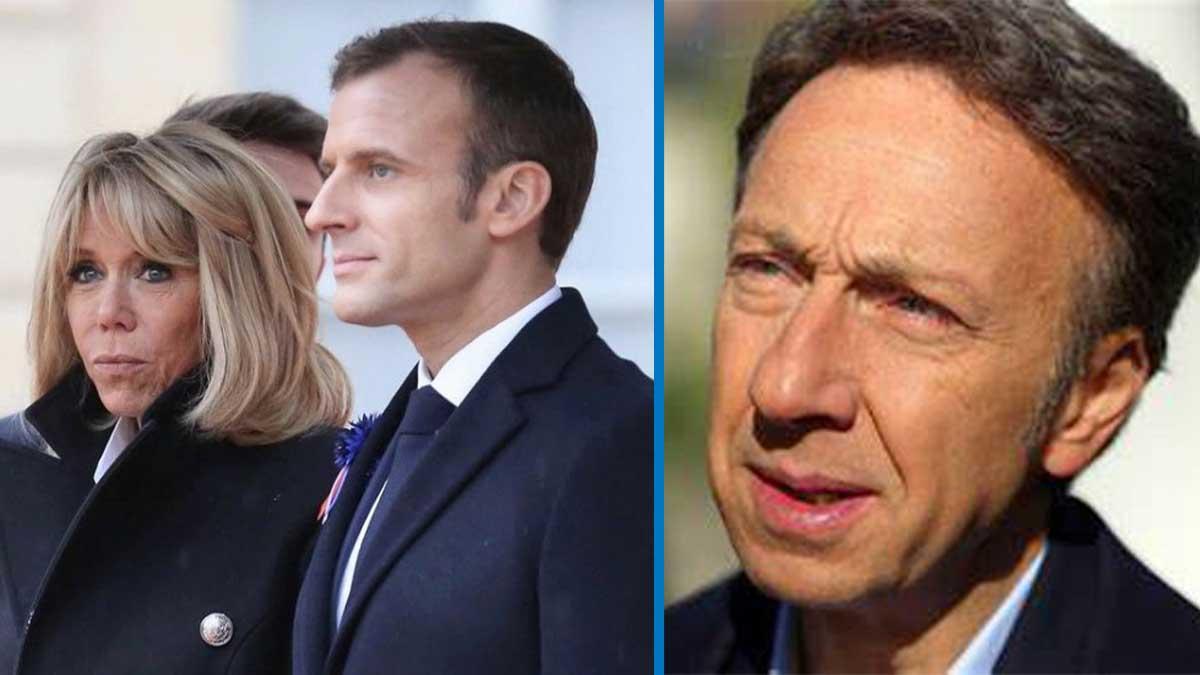 Stéphane Bern berné par Brigitte et Emmanuel Macron, cette écrivaine déballe tout !