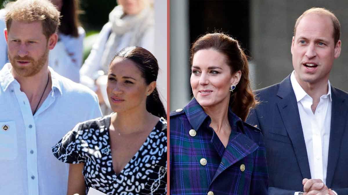 William et Harry double divorce pour 2022 cette collaboration inattendue entre Kate Middleton et Meghan Markle