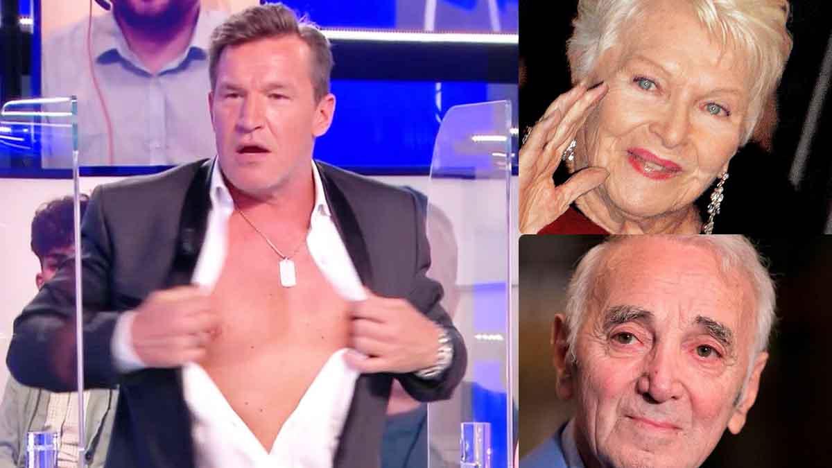 """Benjamin Castaldi : cette soirée de folie où il dépense """"70 000 dollars"""" avec Line Renaud et Charles Aznavour !"""