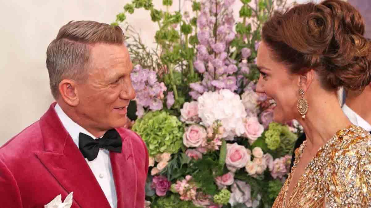 Daniel Craig : le charme de Kate Middleton ne laisse pas James Bond insensible
