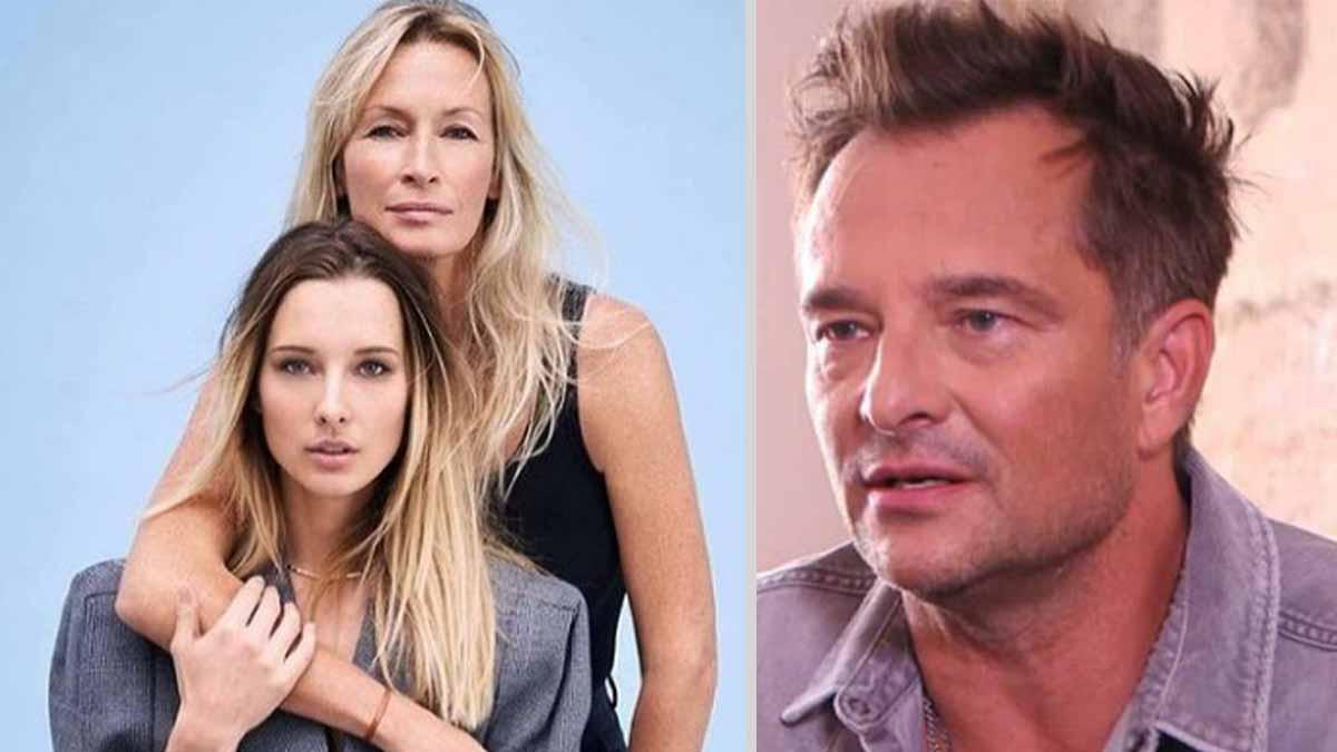 Estelle Lefébure et David Hallyday mystère autour des préparatifs du mariage de leur fille Ilona Smet