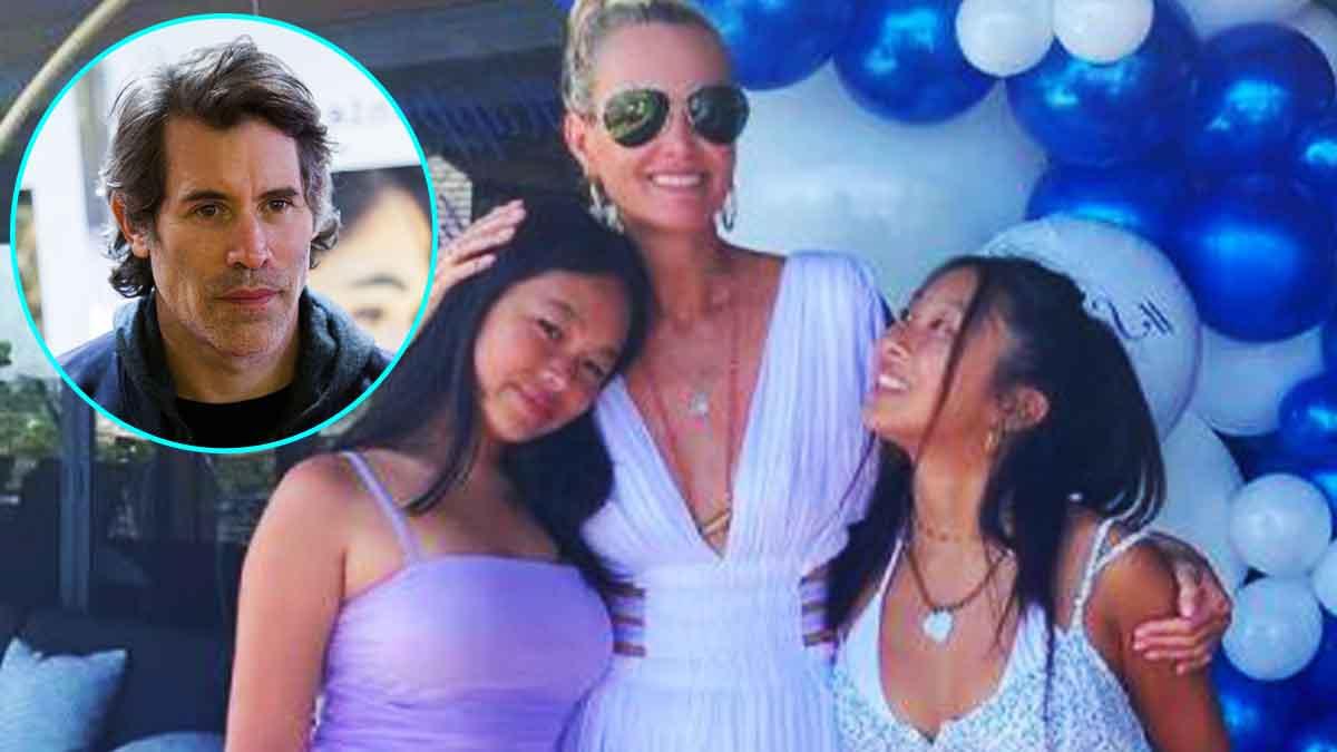 Jade et Joy Hallyday grosse pression sur Jalil Lespert le mariage avec Laeticia annulé !