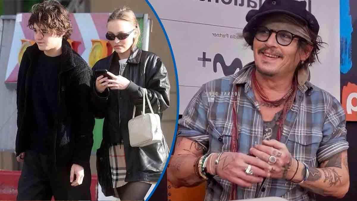 Johnny Depp scandale à San Sebastian cet avertissement de Lily-Rose et Jack
