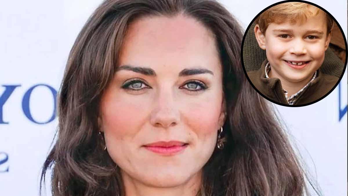 Kate Middleton enceinte dun petit bouboule lhilarante bourde du prince George officialise sa 4ème grossesse