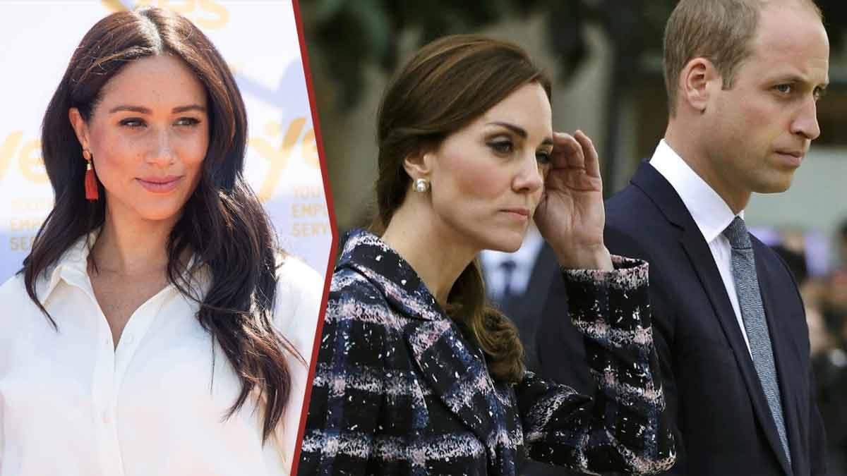 Kate Middleton et William mensonge éhonté de Meghan la vérité sur sa fuite de Londres