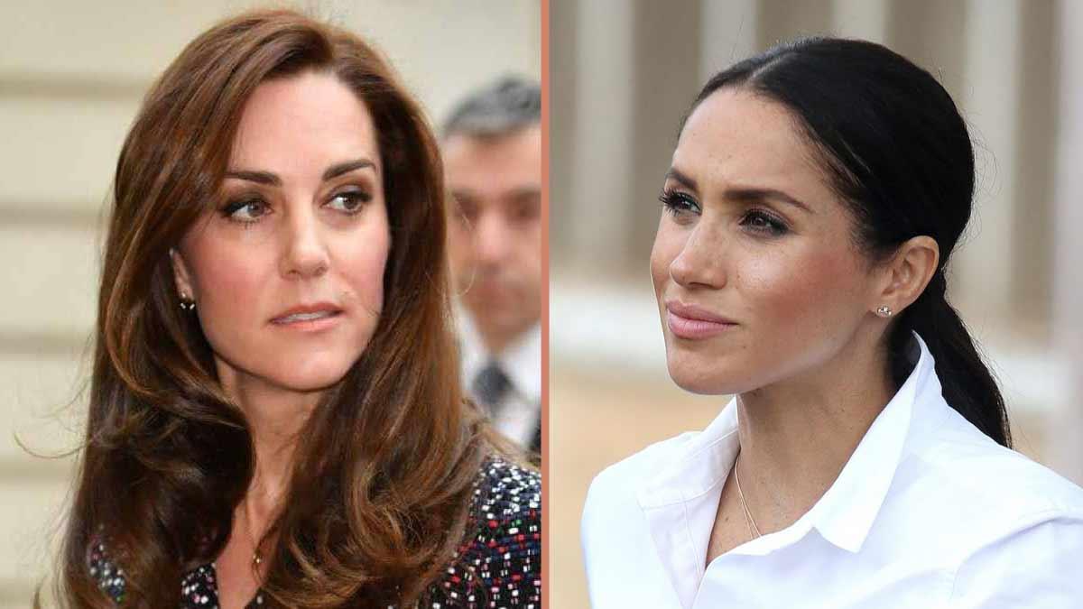 Kate Middleton, victime d'un odieux chantage de Meghan Markle