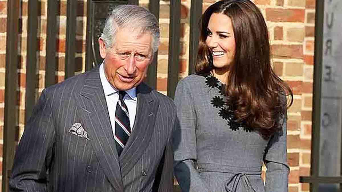 Le prince Charles brisé Kate Middleton en mission sauvetage