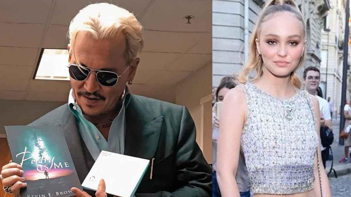Lily-Rose Depp : le look de son papa, Johnny Depp, moqué comme jamais