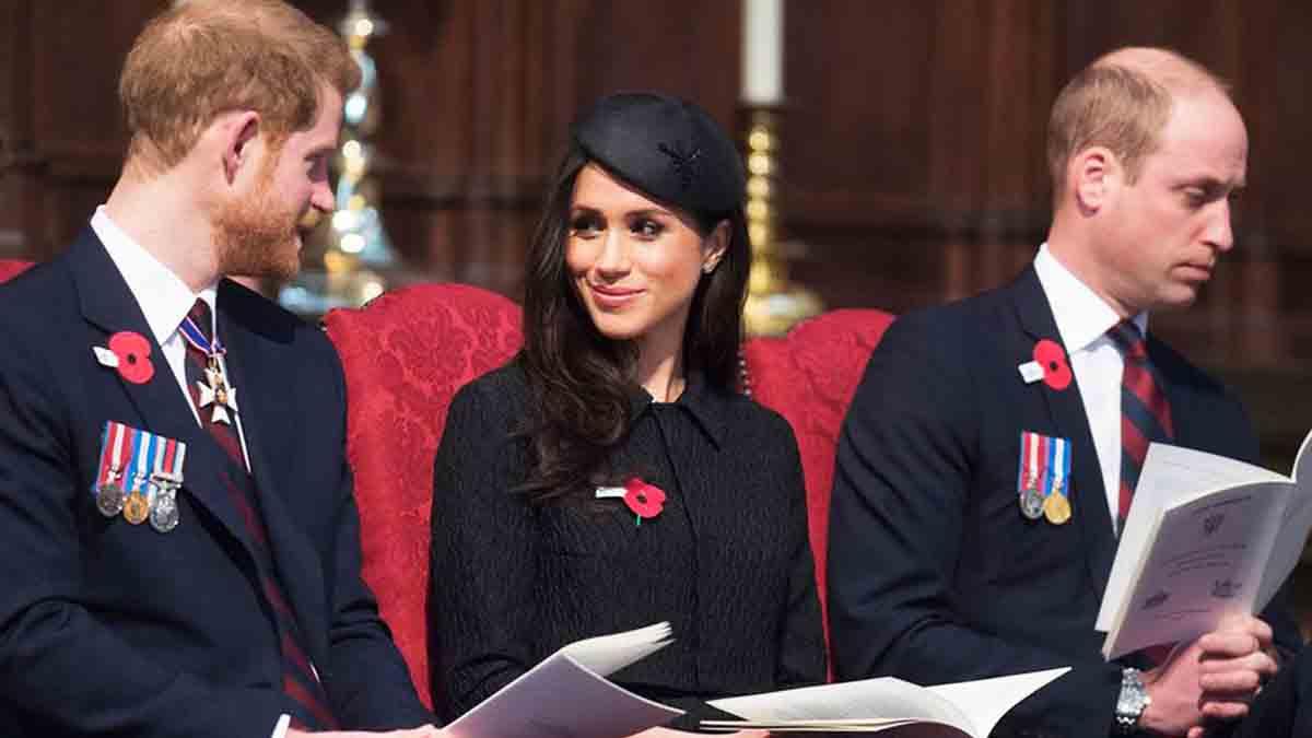 Meghan Markle et Harry débarrassés des espions envoyés par William révélation sur ce nouveau garde du corps des Sussex !
