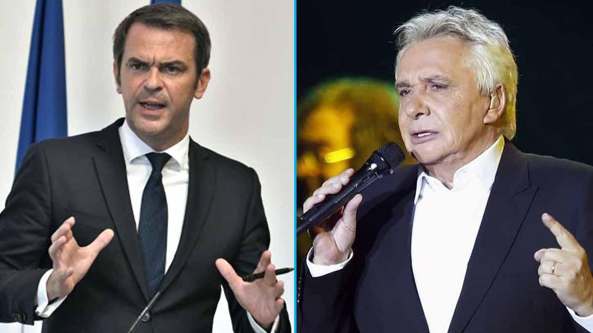 Michel Sardou et Olivier Véran : règlement de comptes en direct ! C'est CASH !