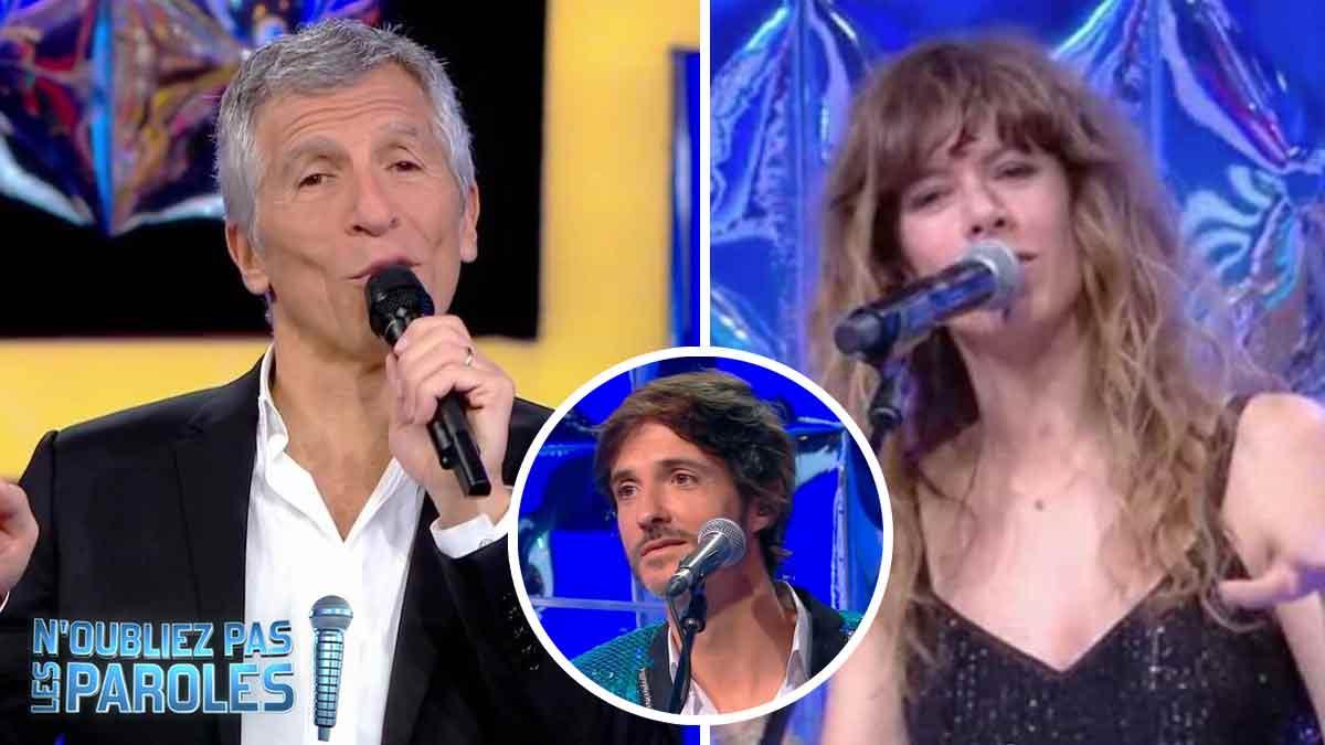 Noubliez pas les paroles: Fabien Haimovici absent du plateau, Nagui et Magali Ripoll se payent sa tête